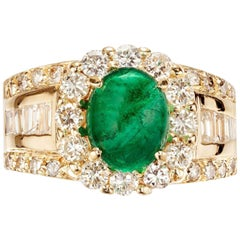 Peter Suchy 2.88 Carat Sapphire Diamond 18 Karat Gold GIA Certified Ring