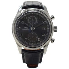 Iwc Portuguese Iw390404 with Stainless-Steel Bezel and Black Dial