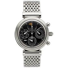 IWC Da Vinci Ref. 3750 Fine Astronomic Automatic Steel Chronograph Wristwatch
