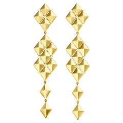 Cadar Python Symmetrical Earrings