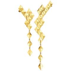 Cadar Python Asymmetrical Earrings