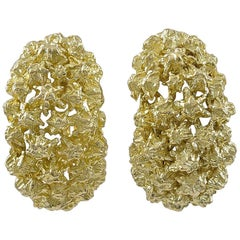 Tiffany & Co. Gold Ear Clips