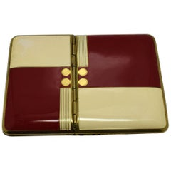Art Deco Combination Compact by Richard Hudnut