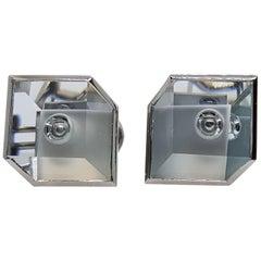 Aquamarine Platinum Atelier Munsteiner Earrings