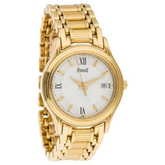 Ladies 18 Karat Yellow Gold Piaget Dancer Watch with Quartz Movement