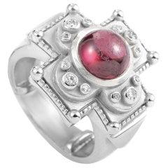 Kieselstein-Cord Tourmaline Diamond Gold Ring