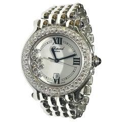 Chopard Happy Sport Stainless Steel Watch with Diamonds