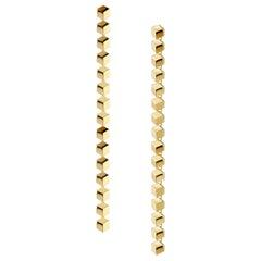 18 Karat Yellow Gold Brillante Sexy Earrings