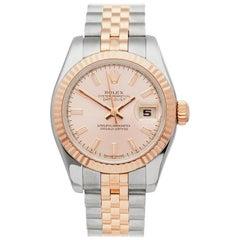 2006 Rolex Datejust Steel & Rose Gold 179171 Wristwatch