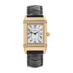 2009 Jaeger-LeCoultre Reverso Yellow Gold 265.1.08 Wristwatch