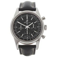 2012 Breitling Transocean Chronograph Stainless Steel AB015212 Wristwatch