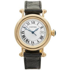 1995 Cartier Diablo Rose Gold 1420-0 Wristwatch