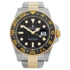 2013 Rolex GMT-Master II Steel and Yellow Gold 116713 Wristwatch