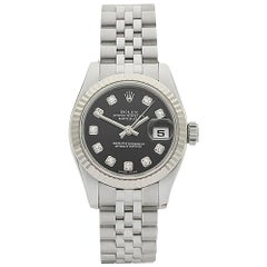 2009 Rolex Datejust Steel and White Gold 179174 Wristwatch