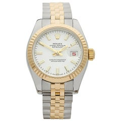 2004 Rolex Datejust Steel and Yellow Gold 179173 Wristwatch
