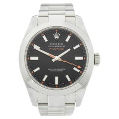 2007 Rolex Milgauss Stainless Steel 116400 Wristwatch