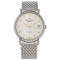 2000's IWC Portofino Stainless Steel IW3513 Wristwatch