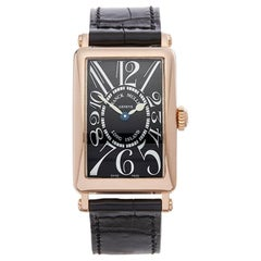 2000 Franck Muller Long Island Rose Gold 902QZ Wristwatch
