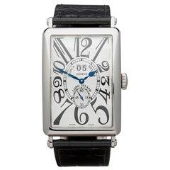 2005 Franck Muller Long Island Big Date White Gold 1200 S6 GG Wristwatch