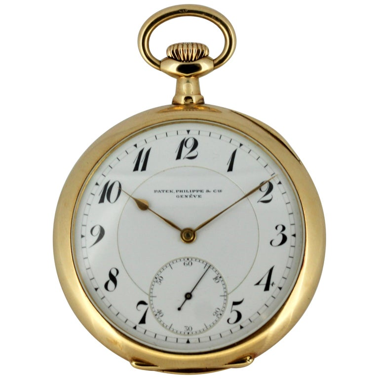 d6b571b9e32 Vintage Patek Philippe 14 Karat Gold Pocket Watch