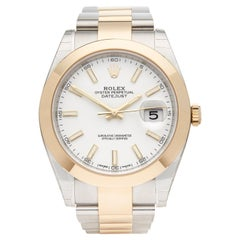 2016 Rolex Datejust Steel & Yellow Gold 126303 Wristwatch