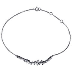 Cosmic Diamond Cluster Bracelet