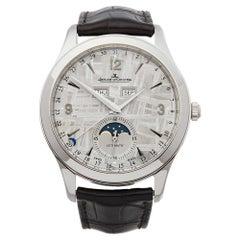 2016 Jaeger-LeCoultre Master Control Calendar Stainless Steel Wristwatch