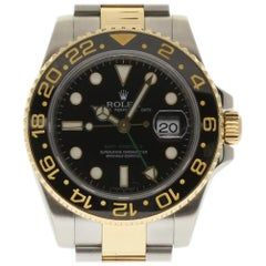 Rolex GMT-Master II 116713 Steel Gold Black Ceramic Box/Paper/2 Year Warranty