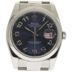 Rolex Datejust 116200 Stainless Steel Blue Box/Paper/2YearWarranty #211-1