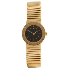 2010's Bulgari Tubogas Yellow Gold BB2321 Wristwatch