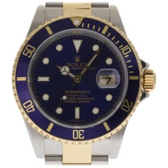 Rolex Submariner 16613 Stainless Steel Yellow Gold 2004 2 Year Warranty #201-5