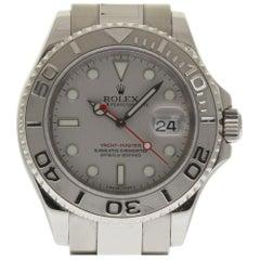 Rolex Yacht-Master 16622 Steel Platinum 2012 Box/Paper/2 Year Warranty #149-1