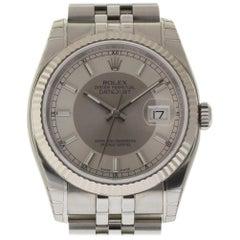 Rolex New Datejust 116200 Steel Silver Automatic Box/Paper/5 Year Warranty