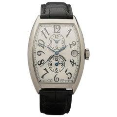 2000's Franck Muller Master Banker White Gold 6850MB Wristwatch