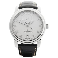 2008 Blancpain Le Brassus 8 Days Platinum 4213-3442-55B Wristwatch