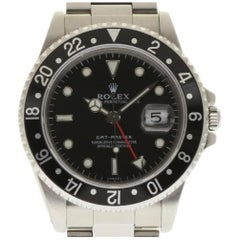 Rolex GMT Master 16700 Stainless Steel Black 1999 Automatic 2 Year Warranty