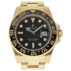 Rolex GMT-Master II 116718 Gold Automatic 2007 Box/Paper/2 Year Warranty #105-1