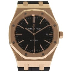 Audemars Piguet New Royal Oak 15400OR.OO.D002CR.01 Rose Gold Box/Paper #AP18