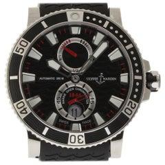 Ulysse Nardin New Maxi Marine Diver 263-90-3/72 Titanium Box/Paper/Warranty