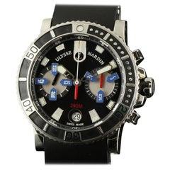 Ulysse Nardin Maxi Marine Diver 8003-102-3/92 Black Box/Paper/2 Year Warranty