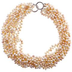 Tiffany & Co. Paloma Picasso Multi-Strand Pearl Torsade Necklace