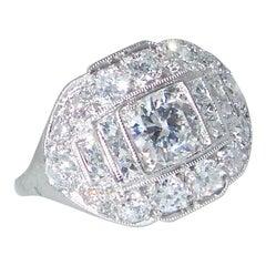 Tiffany & Co. Vintage-Diamant-Ring, um 1930