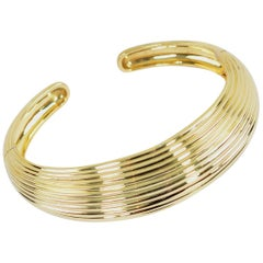 Tiffany & Co. Gold Cuff Bracelet