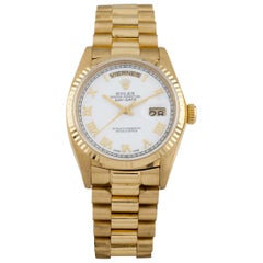 Rolex Men's President Day-Date Automatic 18 Karat Yellow Gold Watch