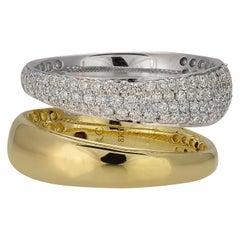 Roberto Coin Scalare Diamond Ring