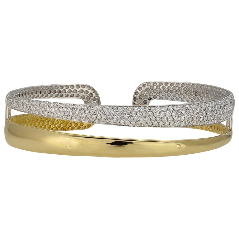 Roberto Coin Scalare Diamond Bracelet For Sale