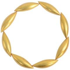 Erich Zimmermann Gold Cocoon Necklace