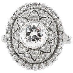 M. Buccellati Diamond Cocktail Ring