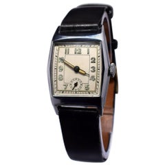 1930s Art Deco Gentleman's Wristwatch