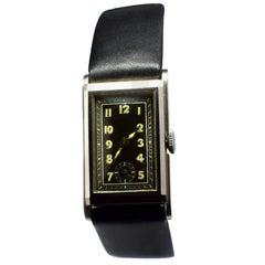 1930s Art Deco Gents Wristwatch